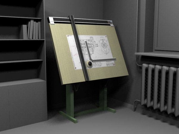Drawing Board 3D Models