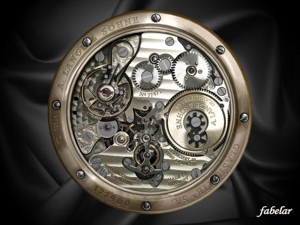 Watch mechanism 4 3D Models