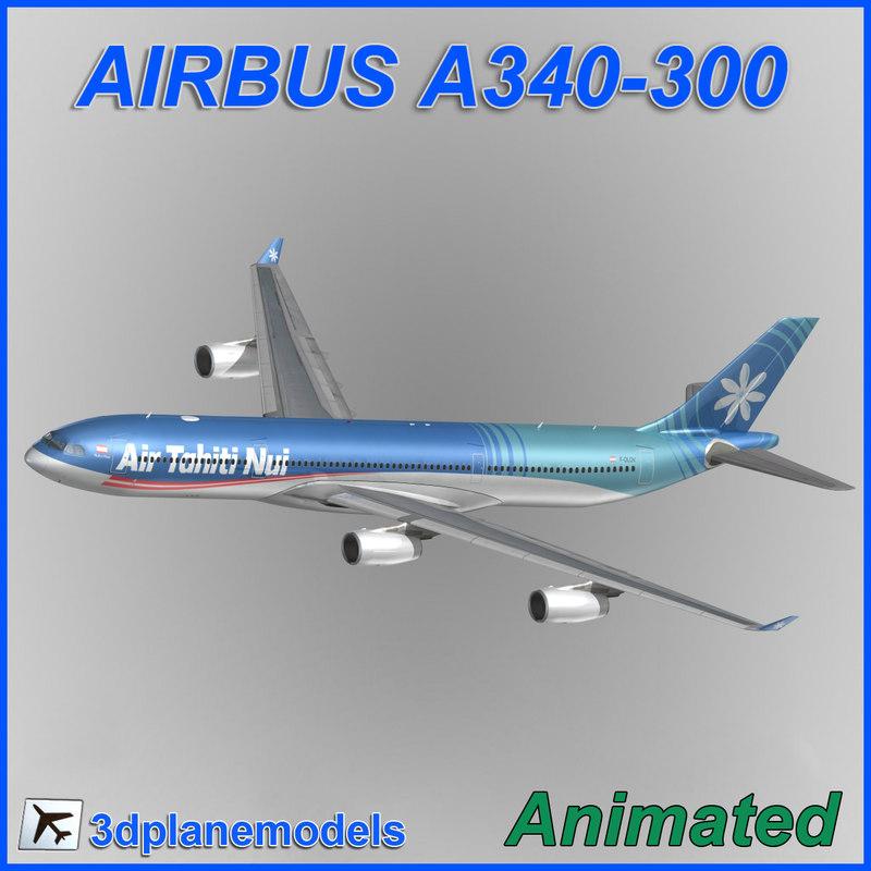 Airbus A340-300 Air Tahiti Nui