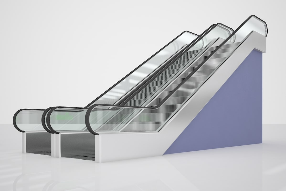 Searched 3d models for ESCALATOR