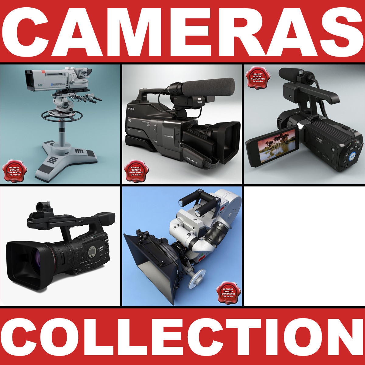 Professional Cameras Collection v2