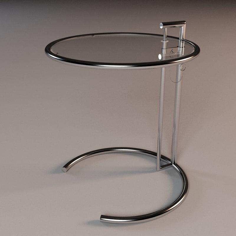 3d Model Eileen Grey Table