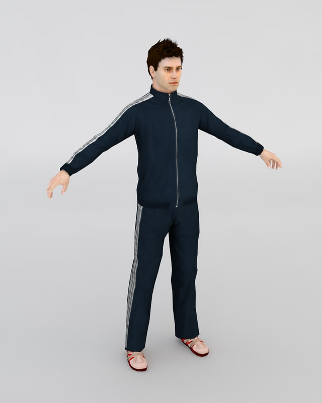 Man In A Tracksuit