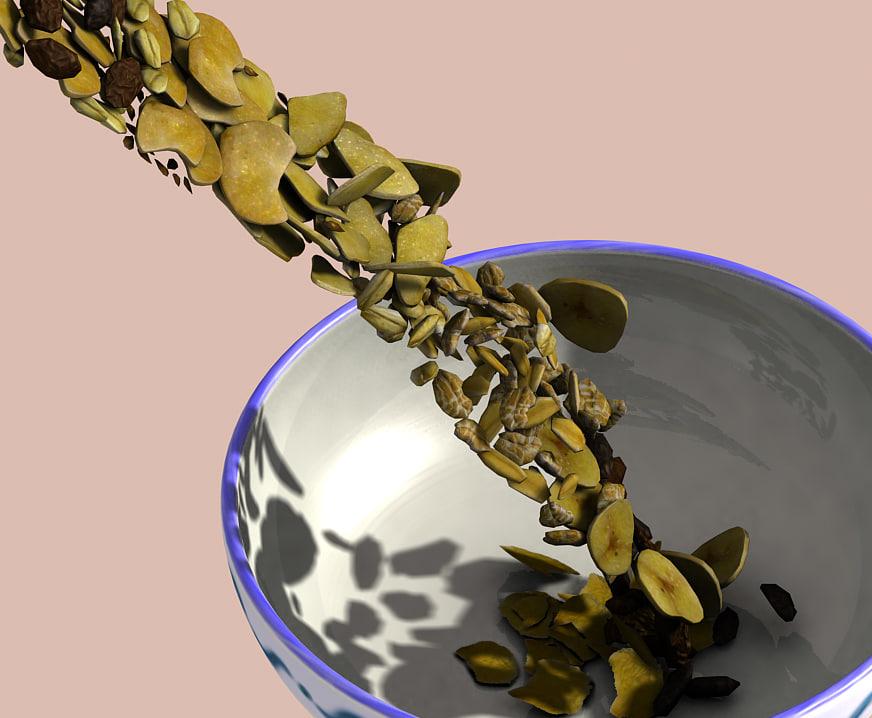 Animated breakfast cereals