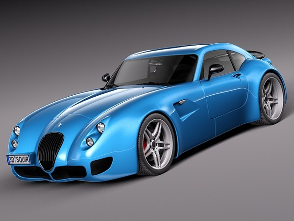Wiesmann GT MF5 2008-2013 3D Models