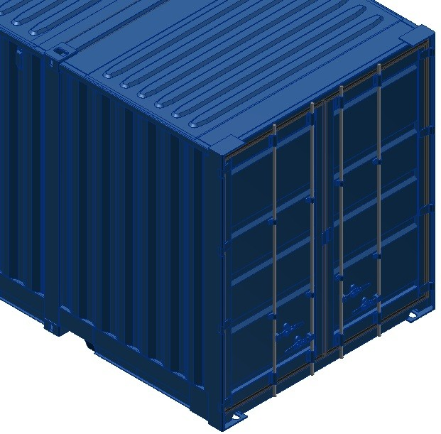 Maya 53ft iso shipping container for Tall shipping container