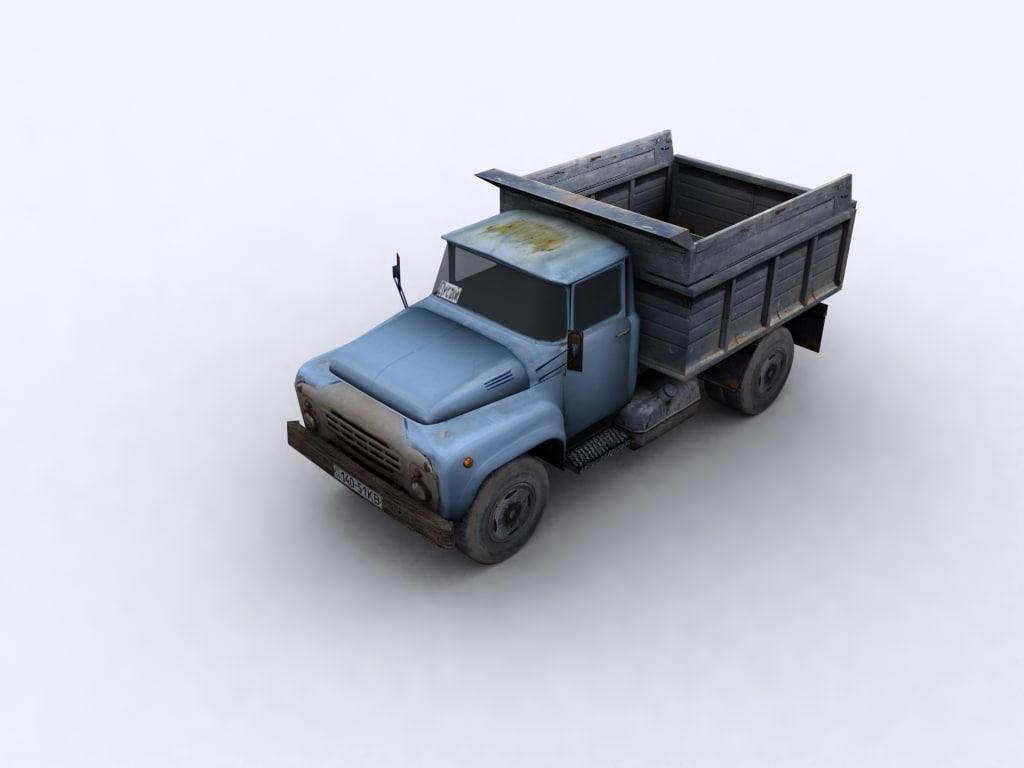 truck USSR Kraz
