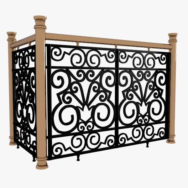 3ds max decorative wrought iron - Wrought iron decorative wall panels ...