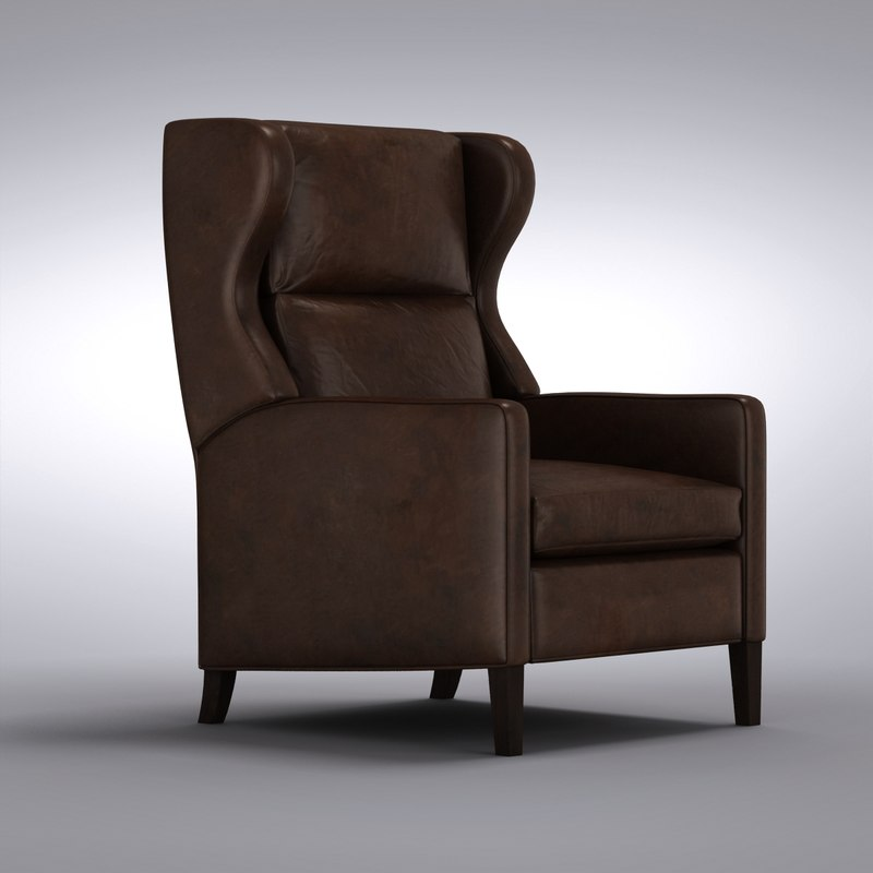 CB Astaire Leather Wingback Recliner0006.jpg