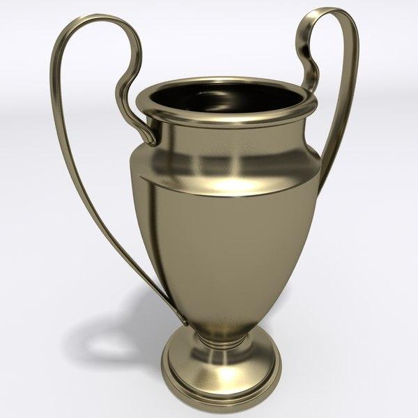 Trophy Cup 3D Models