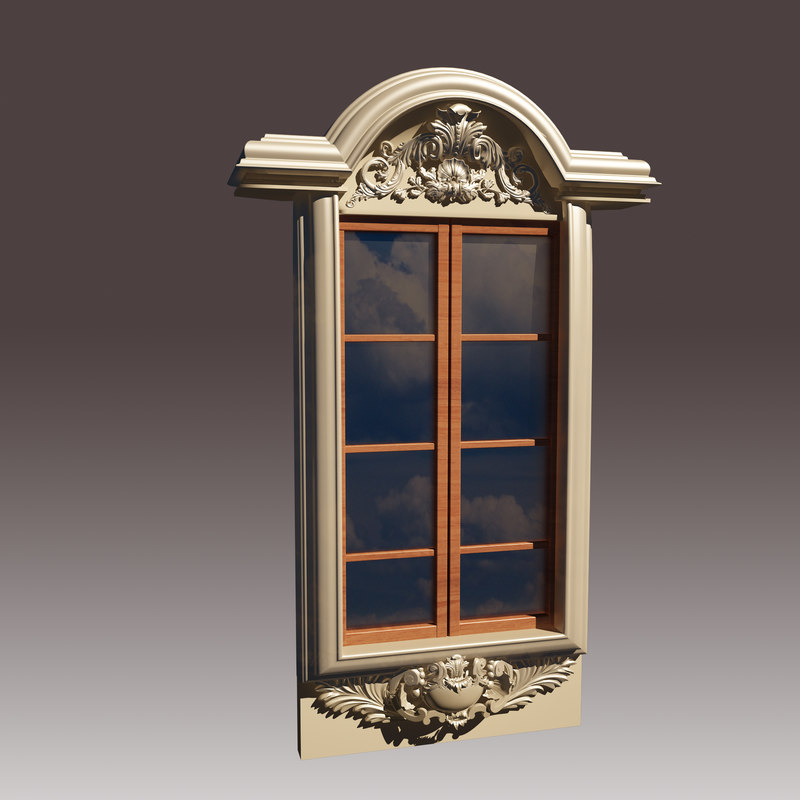 3d model window for Window 3d model