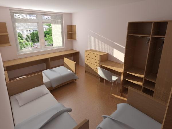 3D room 3D Models