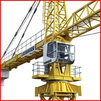 Liebherr construction 3D models