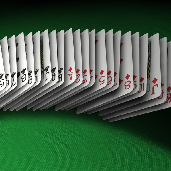 Deck of Cards 3D Models