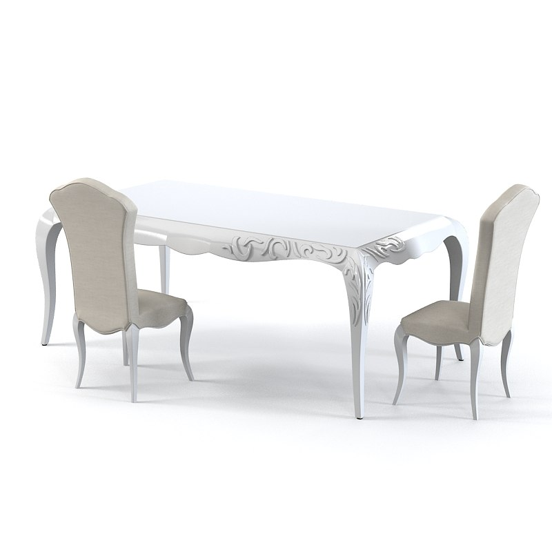 giorgio piotto dining table & chair set glamour neo classic0001.jpg