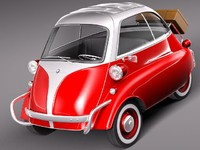BMW Isetta 3D models