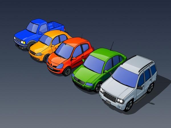cars cartoons Texture Maps
