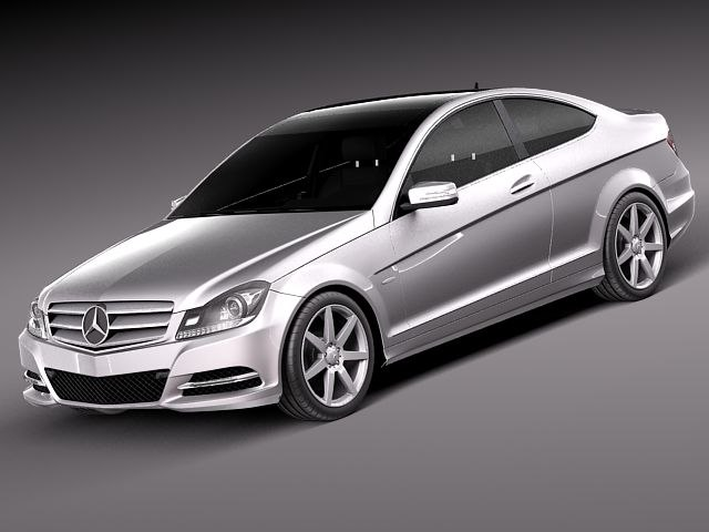 Mercedes-Benz C coupe 2012