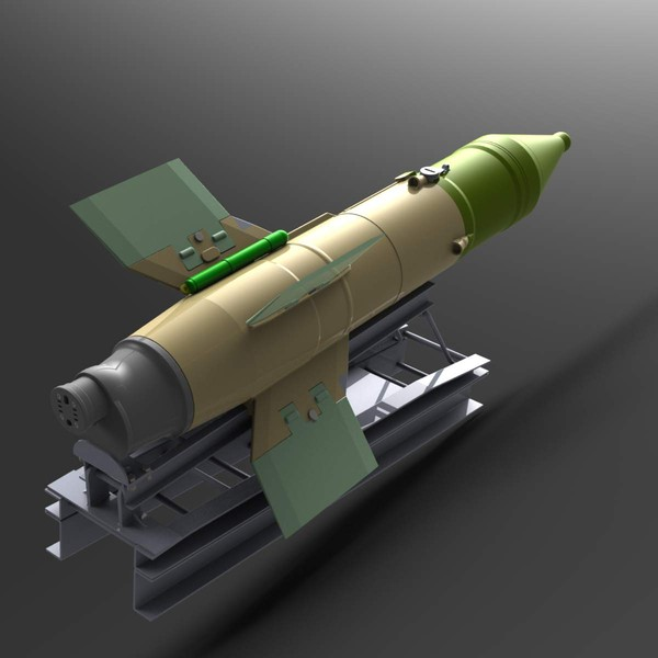 Chinese PLA AT - 3 SAGGER   HJ-73 Hongjian (Red Arrow) Anti-Tank Guided Missile_files 3D Models