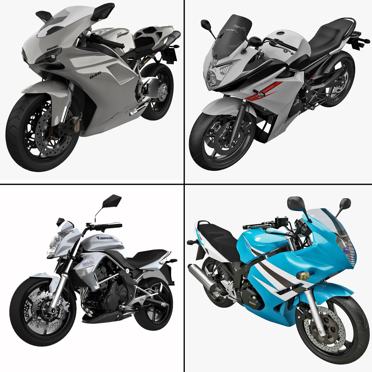 Motorcycles Collection 8