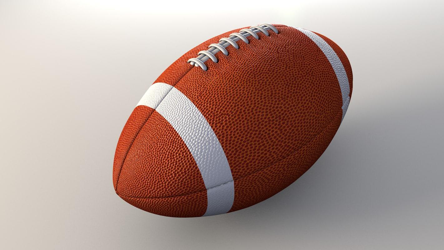 Http Www Turbosquid Com 3d Models Obj Football American Ball 671037