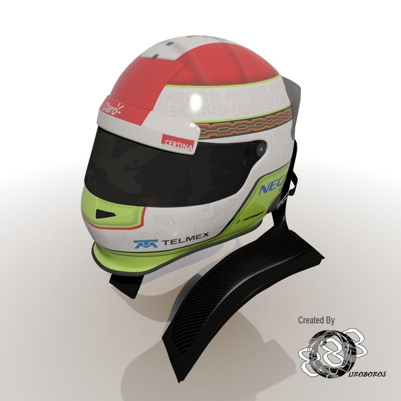 Sergio Perez Helmet 2012.jpg