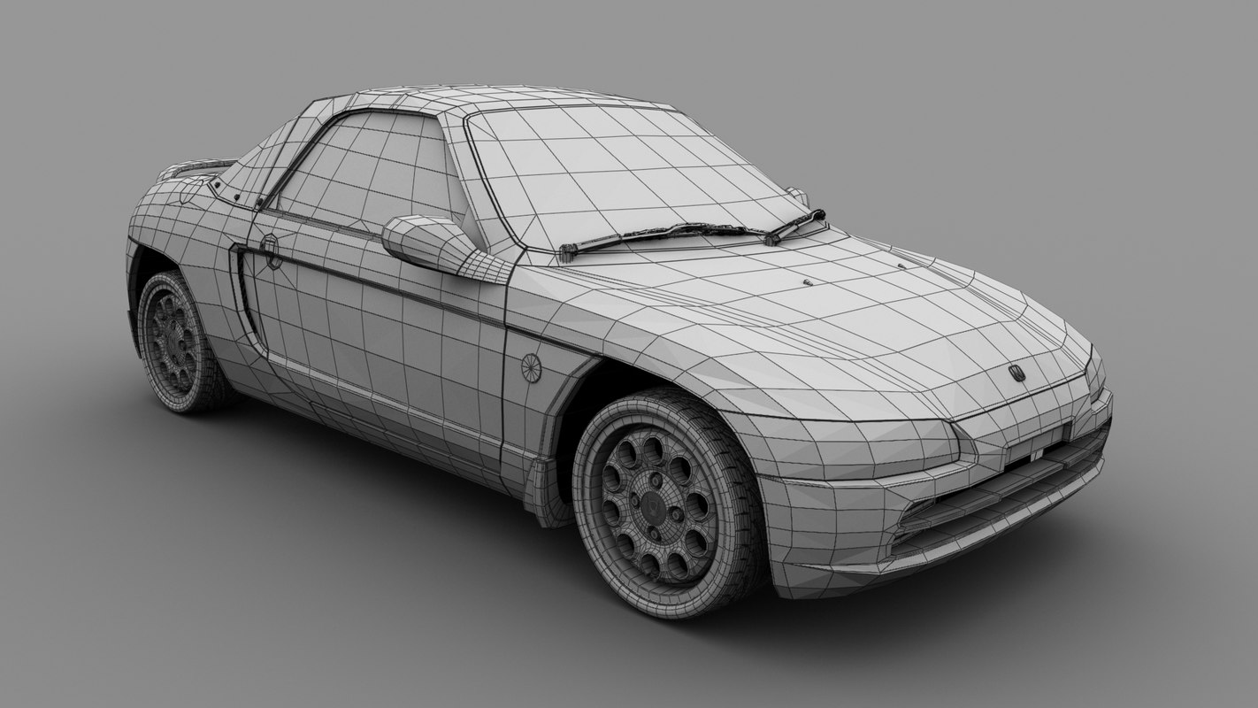 Car_Honda Beat_01 wire.jpg