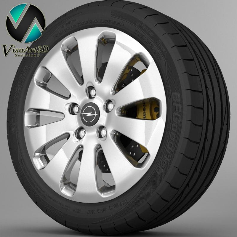 Wheel Opel Insignia 2