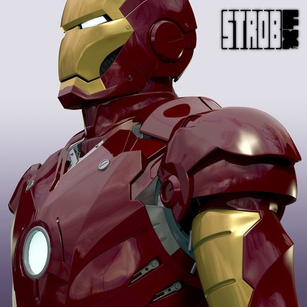 Iron Man Mark III 3D Models