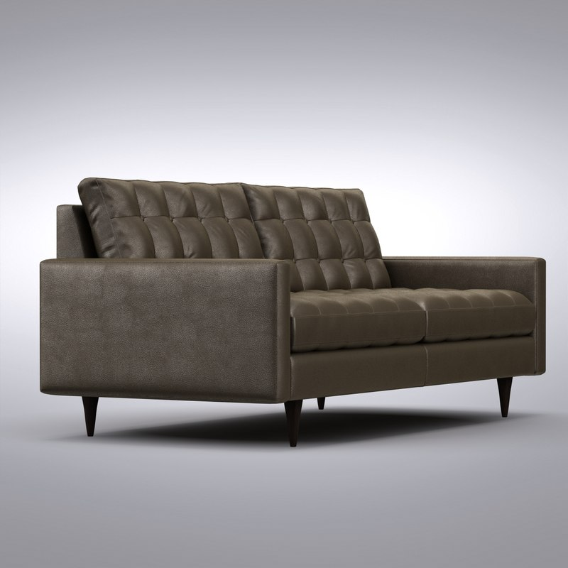 Crate and Barrel - Petrie Apartment Sofa