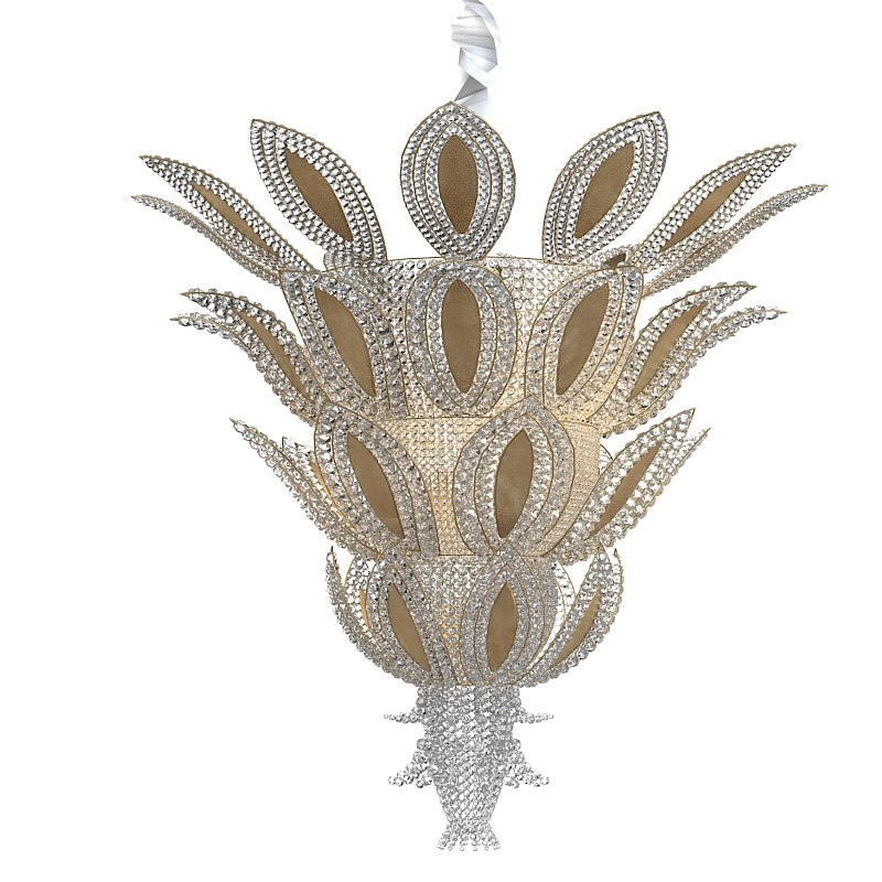 Pineapple art deco luxury crystal ceiling chandelier ananas french lamp 0001.jpg