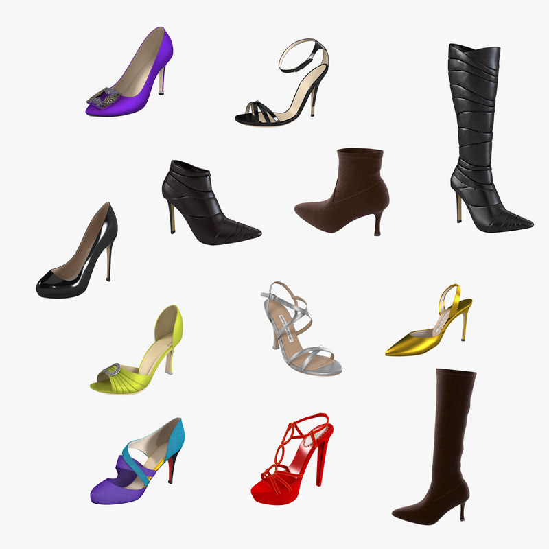 Lady Footwear Set