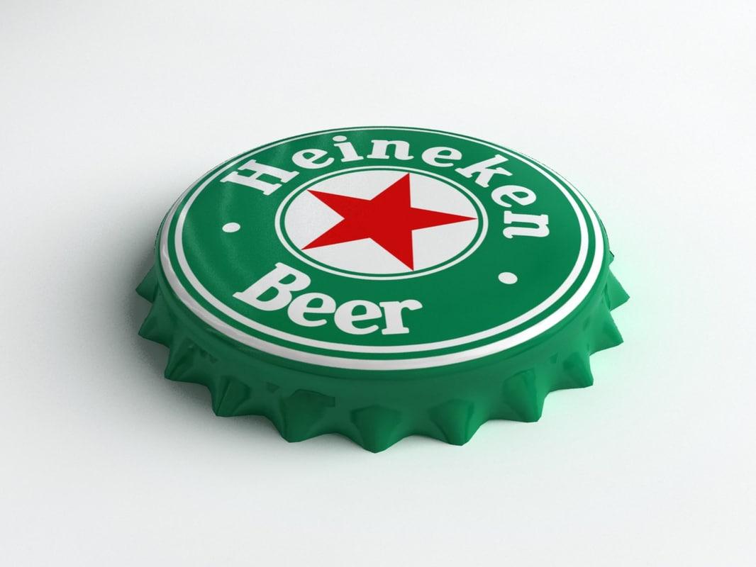 Heineken Bottle Tin Cap