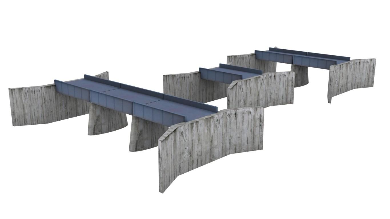 3d 3ds bridge lines