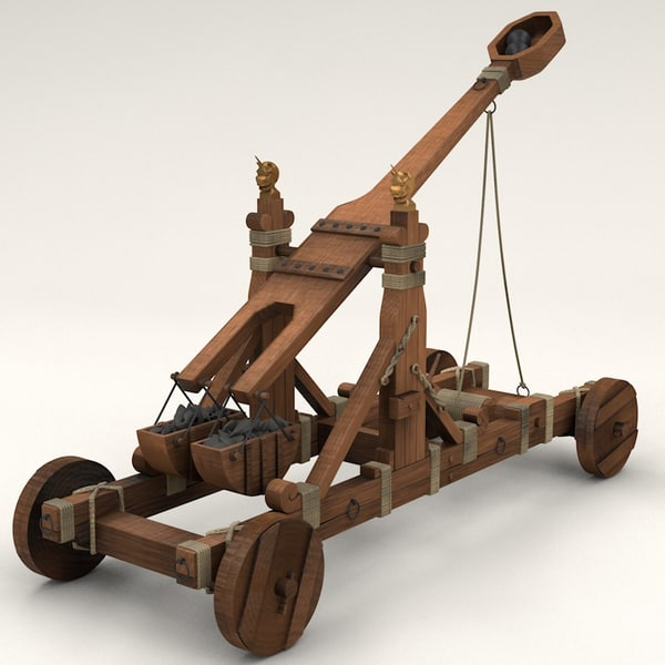 Norman Catapult 3D Models
