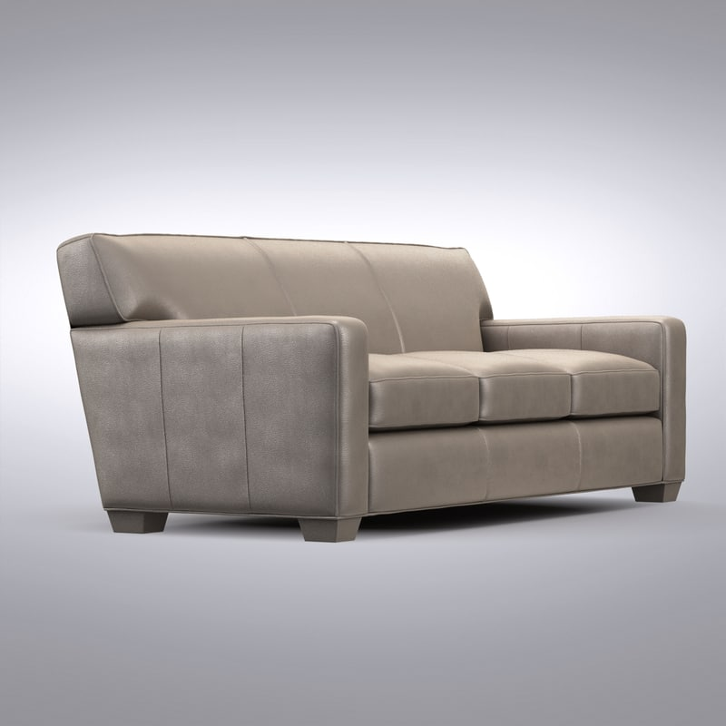Crate and Barrel - Cameron Leather Sofa