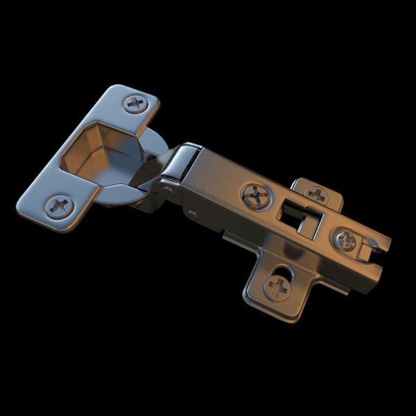 Cabinet Hinge 3D Models