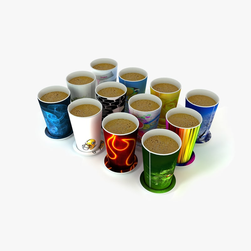 Autocad Coffee Cup D Model