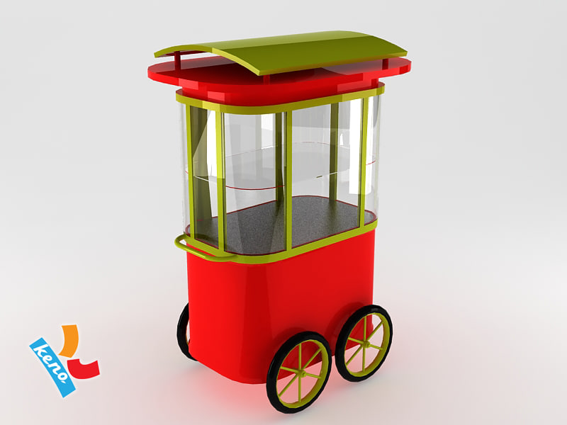Searched 3d models for Wolfcraft pushcart mod Carco