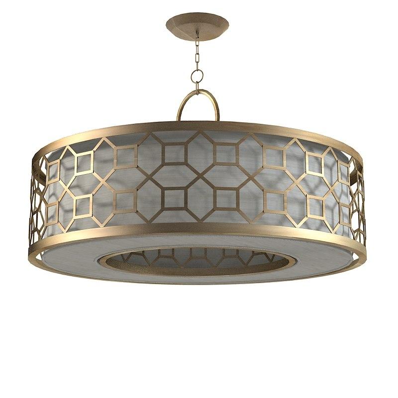 3ds max fine art lamps for Artistic pendant lights