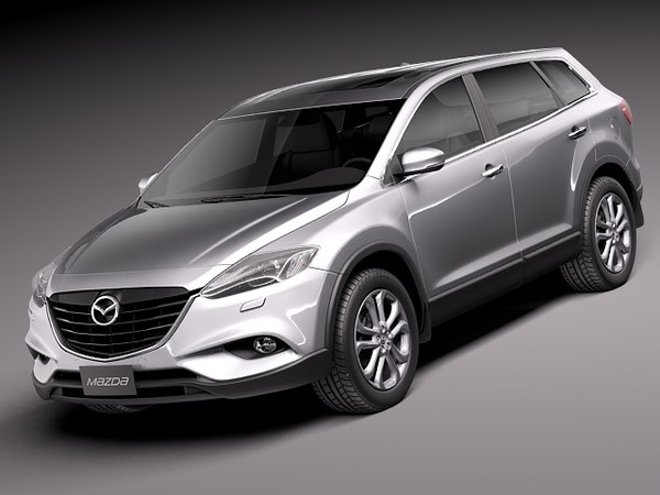 Mazda CX-9 2013 3D Models