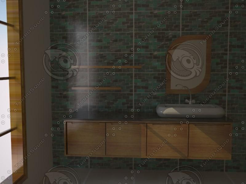 bathroom bathroom 3d model
