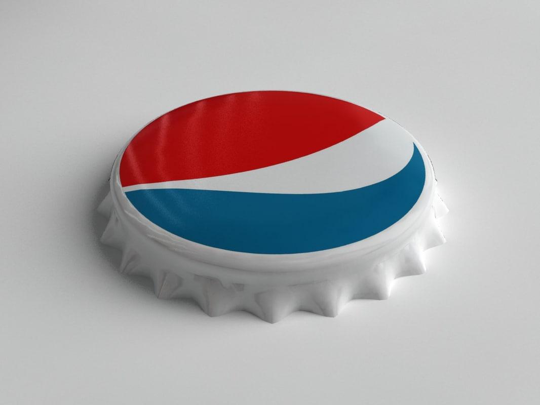 Pepsi Bottle Tin Cap