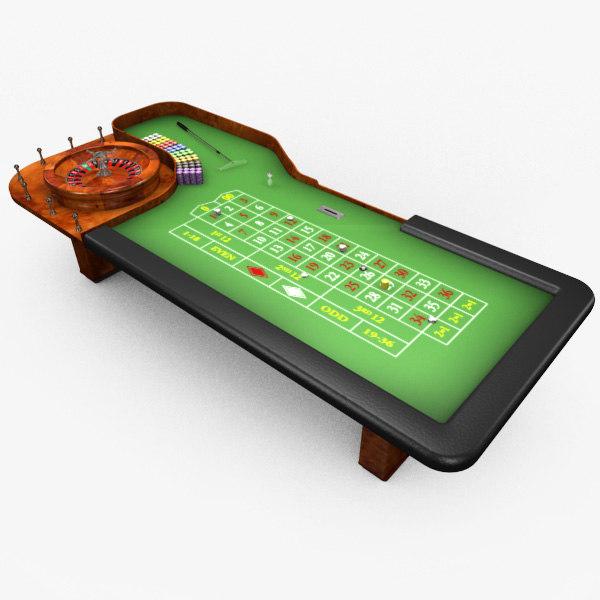 Free 3d model roulette