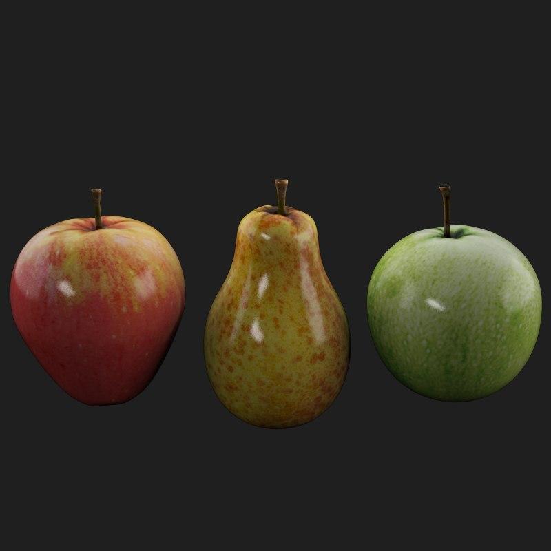 Fruits ( Apple,Pear)