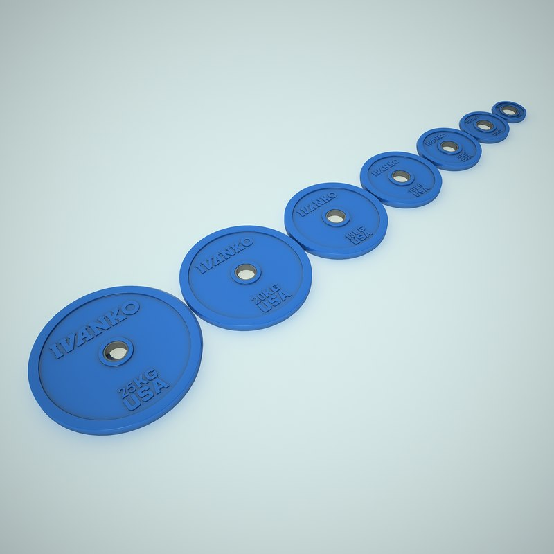 Weight Plates Collection Ivanko