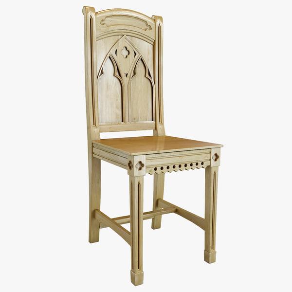 Bishop Pine Chair 3D Models