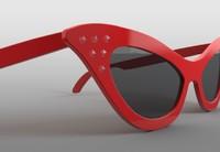 Cat-Eye Glasses 3D models