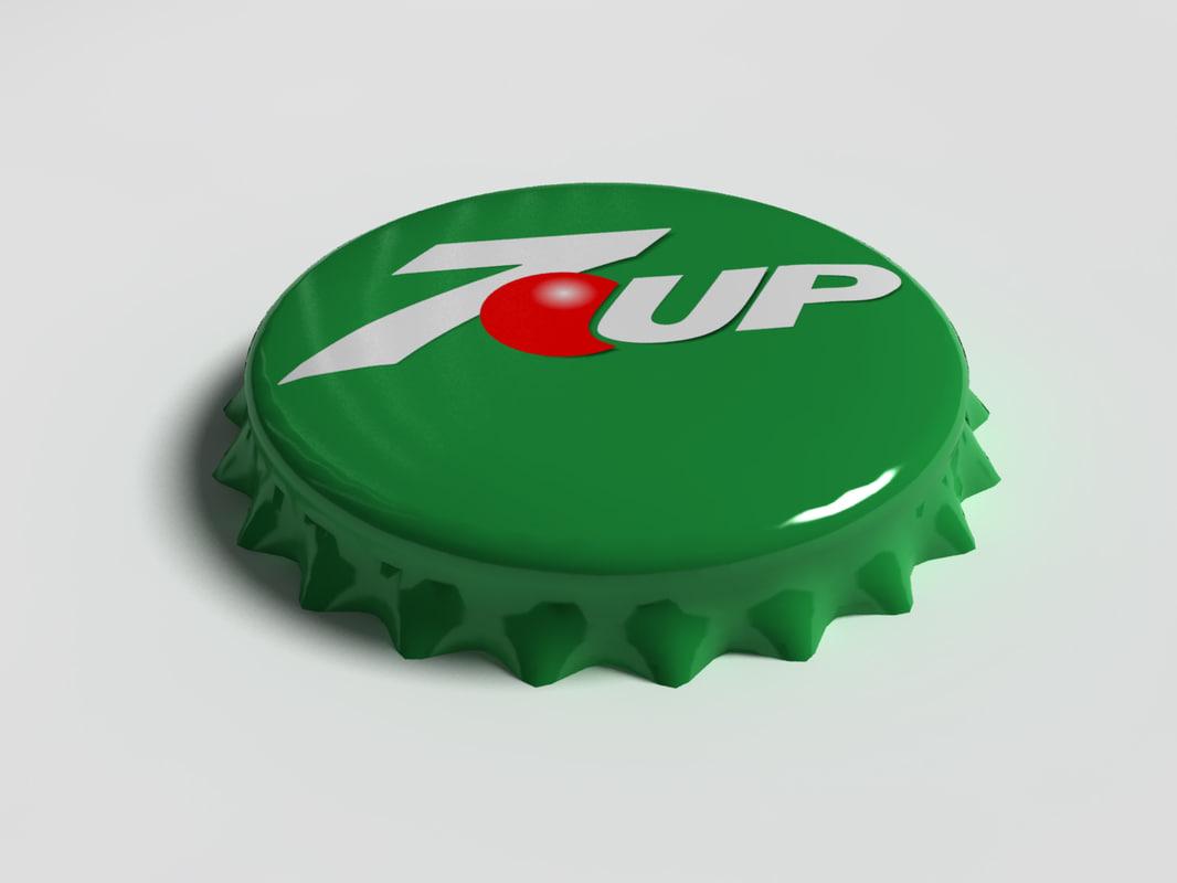 7up Bottle Tin Cap