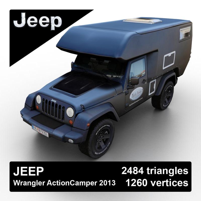 Jeep Wrangler Actioncamper 2013